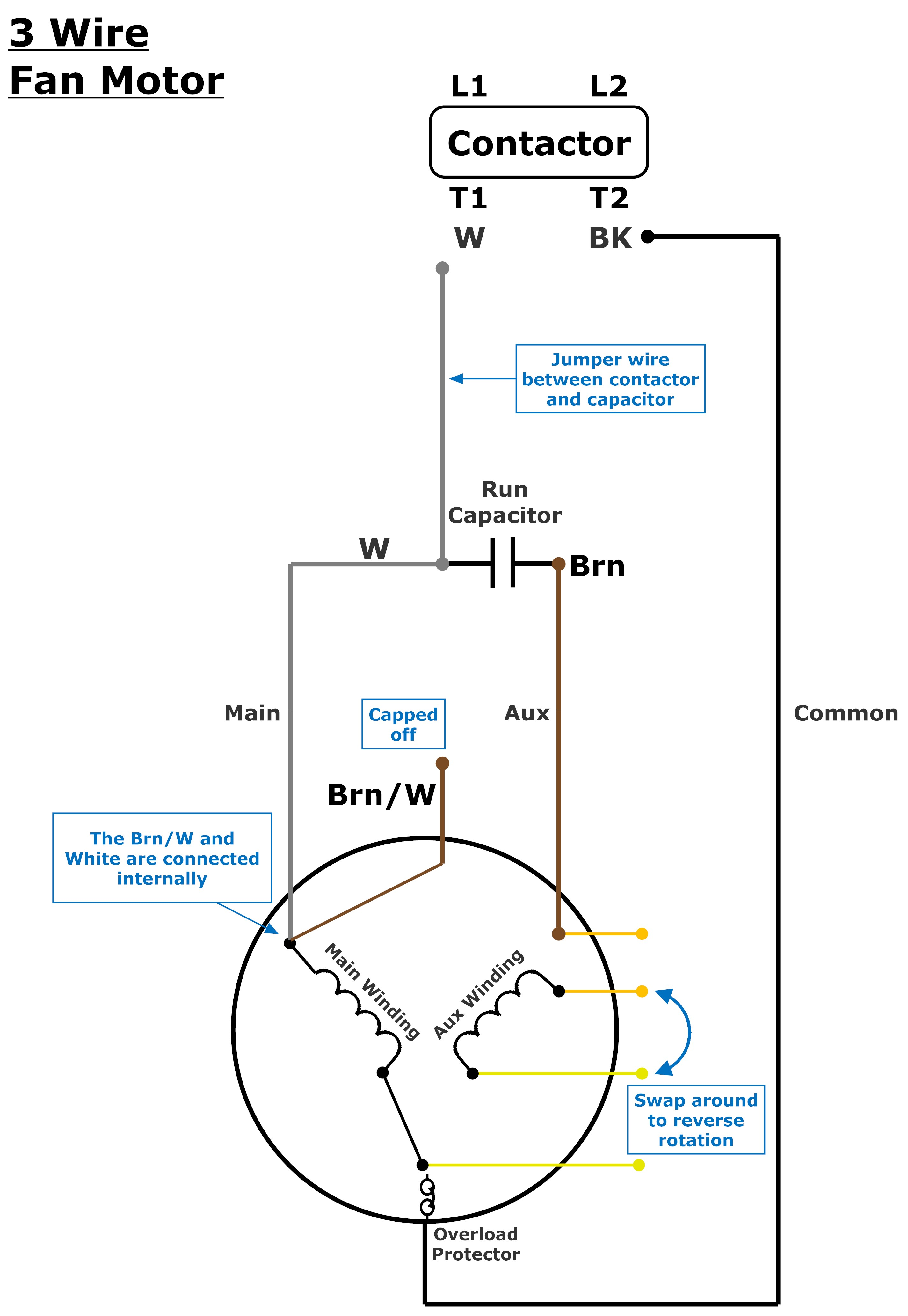 Electric Fan Wiring Diagram Capacitor from johnstone.zendesk.com
